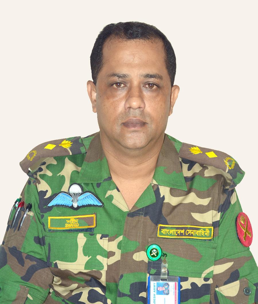 Lt Col Md Shahidul Hasan, SUP.