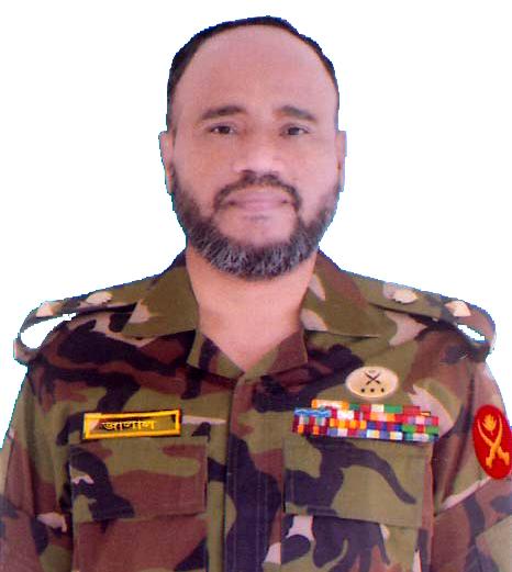 Lt Col Md Jalal Uddin, psc