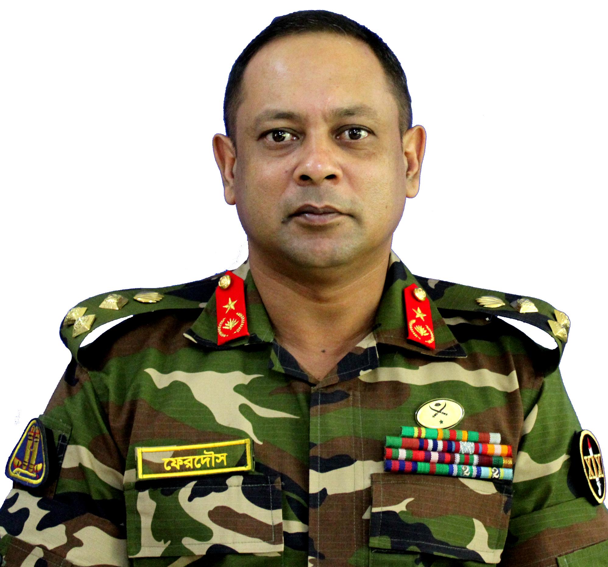 Brig Gen Ferdous Hasan Salim, SUP, psc