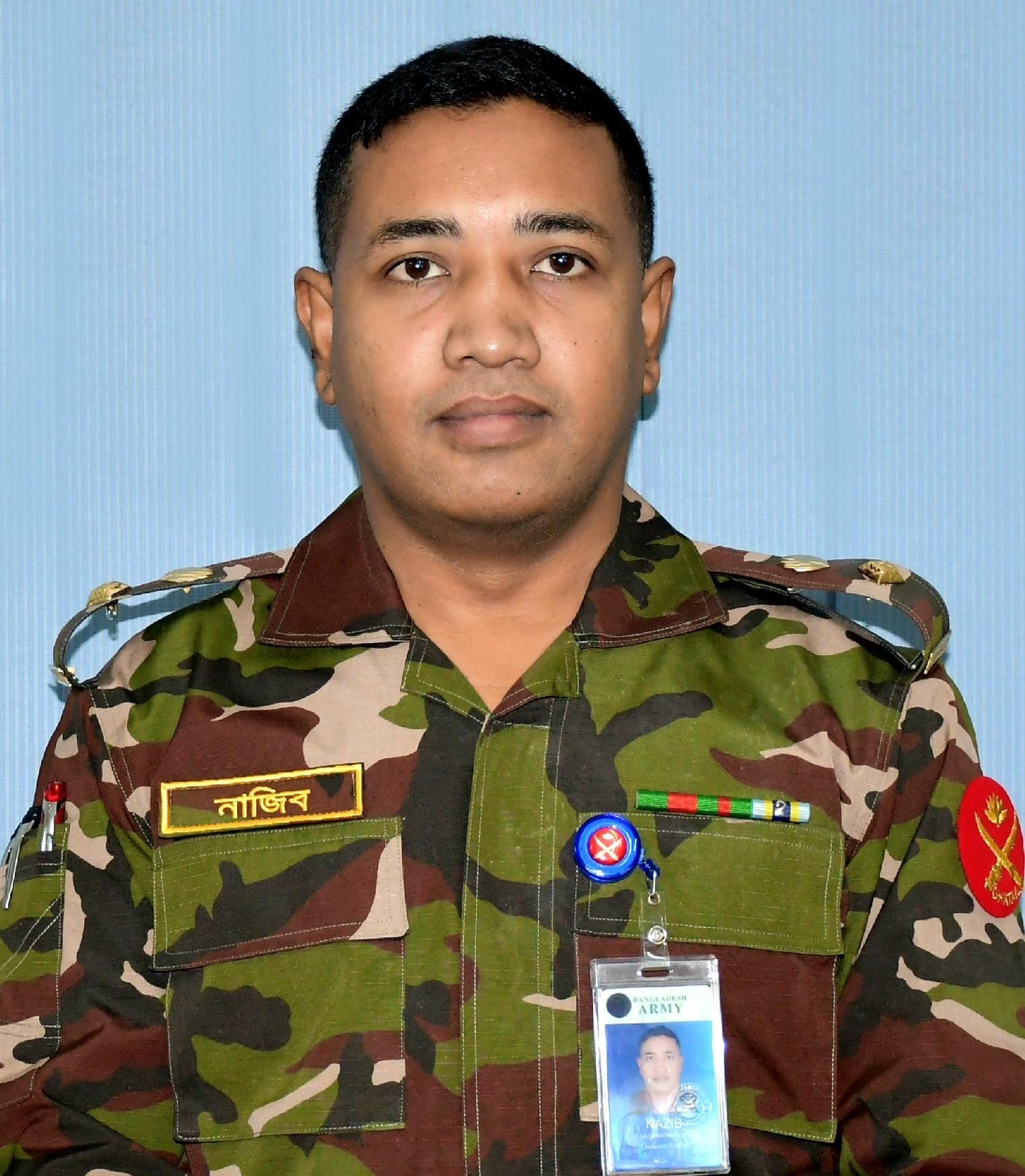 Lieutenant Colonel Md Nazib Mahmud Shajib,psc,G